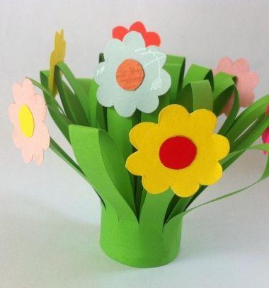 DIY Easy mother's day paper flower bouquet // Egyszerűen elkészíthető papír virág csokor anyák napjára // Mindy - craft tutorial collection //