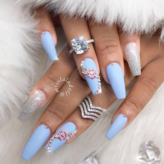 Stylish Shades For Ballerina Nails Naildesignsjournal Com Quinceanera Nails Ballerina Nails Ballerina Acrylic Nails