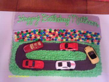 Easy Race Car Party Cakes | Car Birthday Party Ideas
