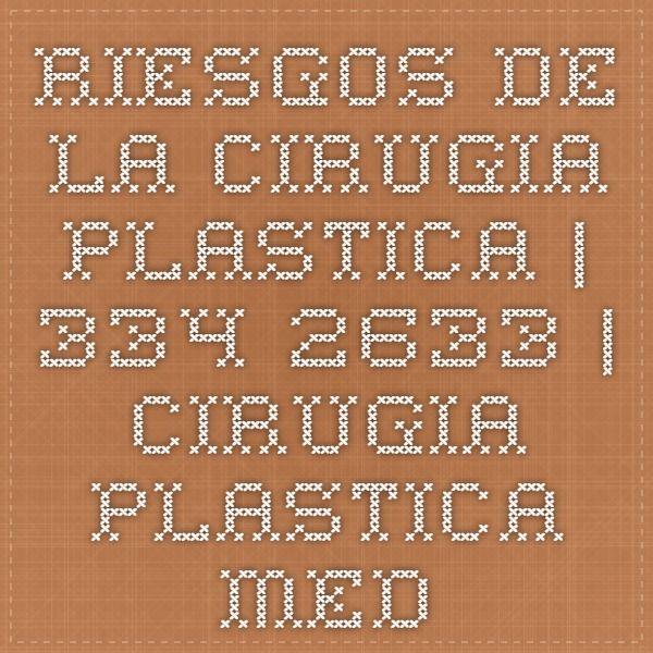 Riesgos de la Cirugia Plastica | 334-2633 | Cirugia Plastica Medellin | Cirugia Estetica Medellin | Cirujano Plastico Medellin | | cirugias plasticas medellin | clinica de cirugia estetica medellin | http://cirugiaplastica.enmedellincolombia.com