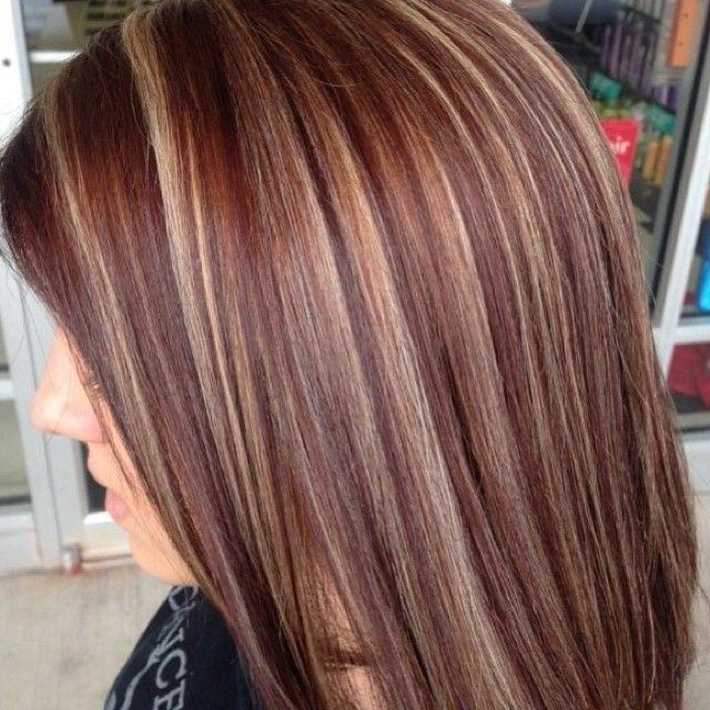 Prime 17 Best Ideas About Red Blonde Highlights On Pinterest Fall Hair Short Hairstyles For Black Women Fulllsitofus
