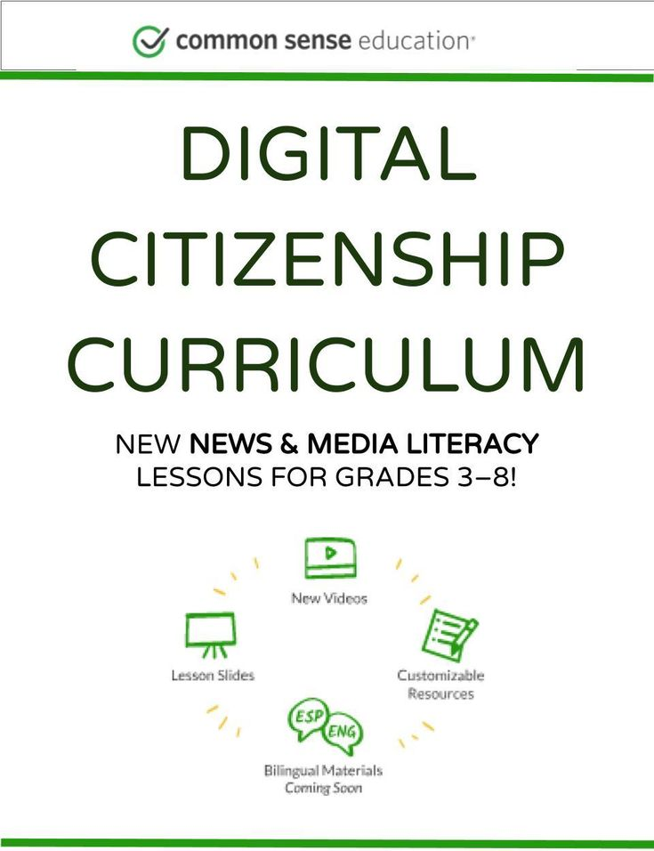 Digital Citizenship Curriculum | Media Literacy & Digital