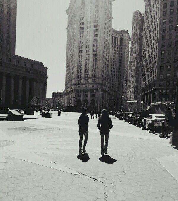 Caminando por estas bellas calles