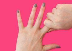 Drücke für 60 Sekunden deinen Zeigefinger - Mit deinem Körper wird ein Wunder passieren.   LikeMag   We like to entertain you