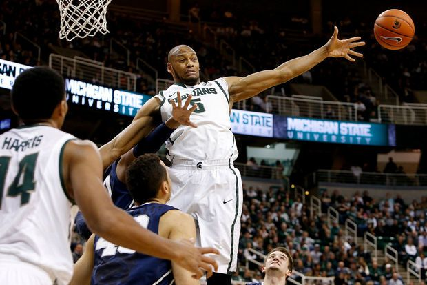 Michigan State, fueled by the return of Adreian Payne, crushes Penn State 82-67 | MLive.com