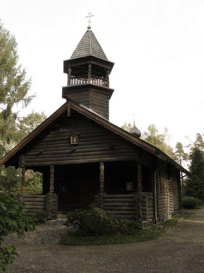 Orthodox cemetery of Joensuu