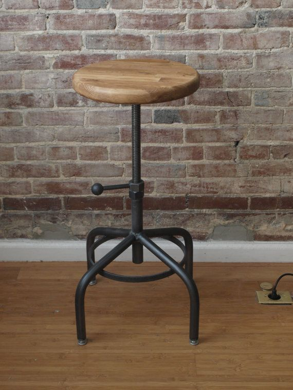 17 Best Ideas About Industrial Stool On Pinterest