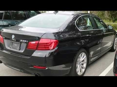 2014 BMW 535i Sedan in Lakeland FL 33809 : Fields BMW Lakeland 4285 Lakeland Park Drive I-4 @ Exit 33 in Lakeland FL 33809  Learn More: http://ift.tt/2kDyzux  Here's a great deal on a 2014 BMW 535i. This 4 door 5 passenger sedan has not yet reached the 50000 mile mark! It features an automatic transmission rear-wheel drive and a 3 liter 6 cylinder engine. A turbocharger further enhances performance while also preserving fuel economy. BMW prioritized practicality efficiency and style by…
