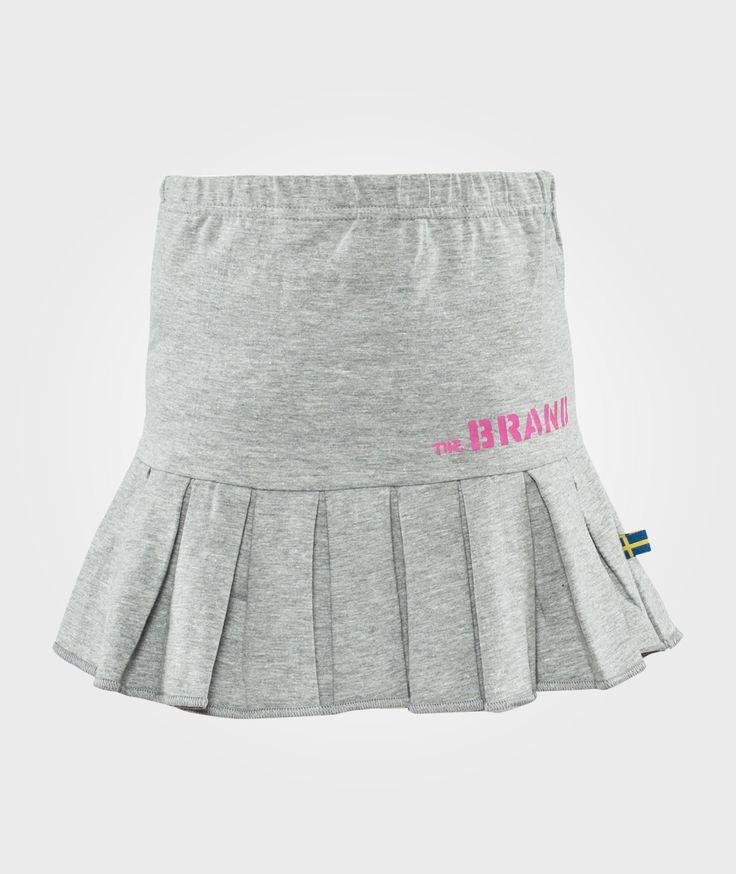 The BRAND Petit Skirt Grey Melange Grå