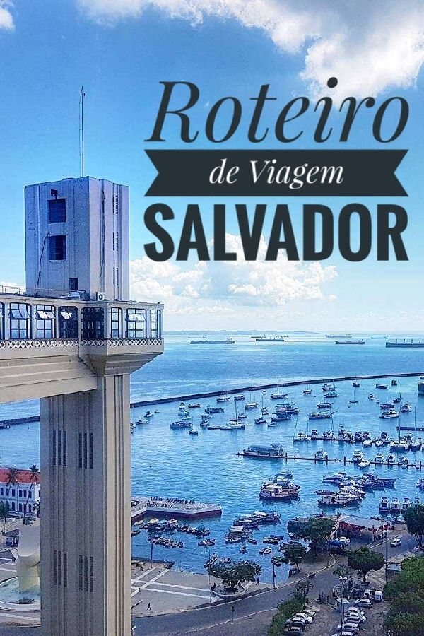 Várias dicas de viagem para Salvador, com um roteiro de um dia bem completo contemplando os principais pontos turísticos. http://viajantemovel.com.br/pt/salvador-roteiro-um-dia/