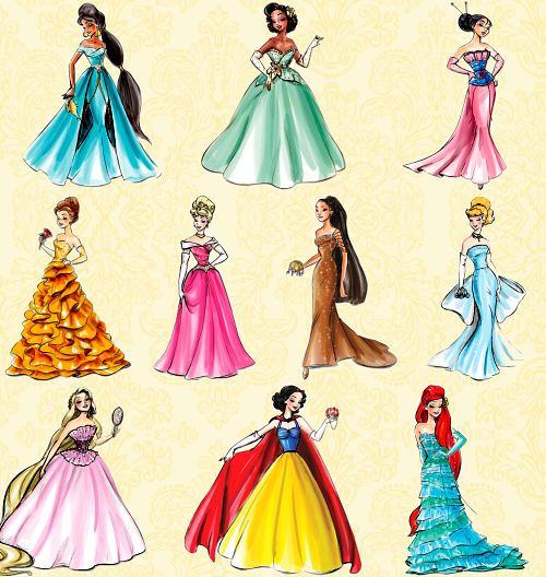 Disney Princess Dress Sketches Rihanna Fashion Urban Couture Jerron Couture Everything