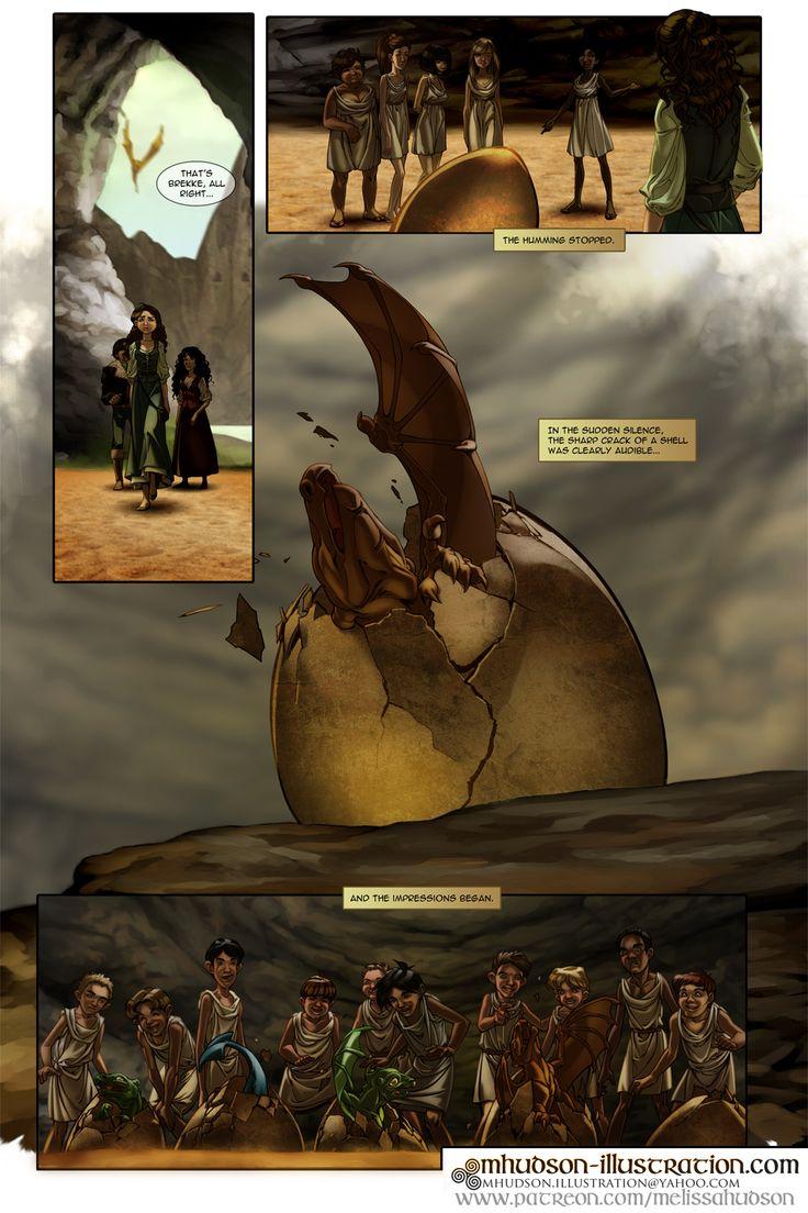 Dragonriders of Pern fancomic - The Impression pg8 by MMHudson.deviantart.com on @DeviantArt