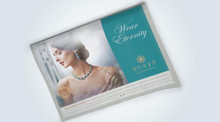Anaya Diamonds Print ad