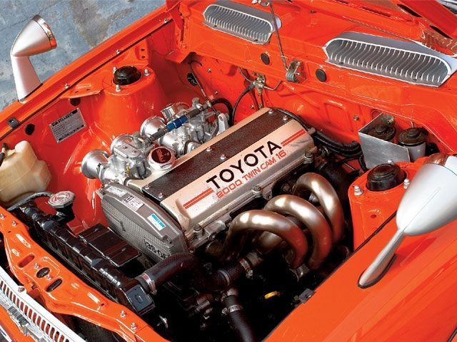 1972 Toyota Corolla   Runs Under The Powe Of   Super Street