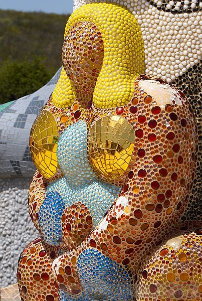 niki de saint phalle - queen califi Niki de Saint Phalle (1930-2002) #arts