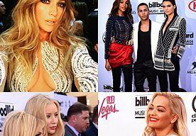 18-May-2015 9:27 - STERREN 'NAAKT' OP DE RODE LOPER VAN DE BILLBOARD AWARDS. De rode loper van het MET Gala lijkt de toon te hebben gezet. Gisterenavond vond in Las Vegas de Billboard Music Awards plaats en de celebrities hadden opnieuw hun stylisten erop uit gestuurd om de allernaakste jurkjes in town te vinden. Jennifer Lopez trakteerde haar fans op haar killer body in een nietsverhullende met kristallen bezaaide naked dress van Charbel Zoe en ook Taylor Swift wandelde sexy de red...