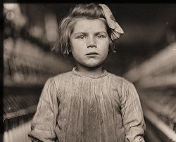 Steampunk is fun and all, but remember not all history was (The History Place - Child Labor in America: Investigative Photos of Lewis Hine)