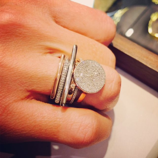 Stack your Diamonds using our online ring stack #stackandshare