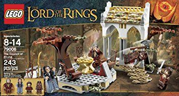 LEGO Lord of The Rings and Hobbit The Council of Elrond - 79006, Loose Bricks - Amazon Canada