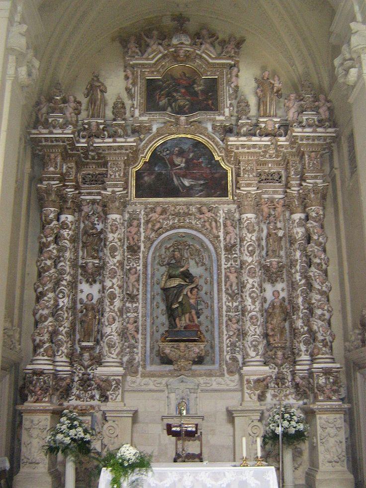 Altare Maggiore San Matteo Lecce - Chiesa di San Matteo (Lecce) - Wikipedia