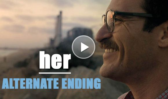 The alternate ending to 'Her' was much, much sadder than the original...