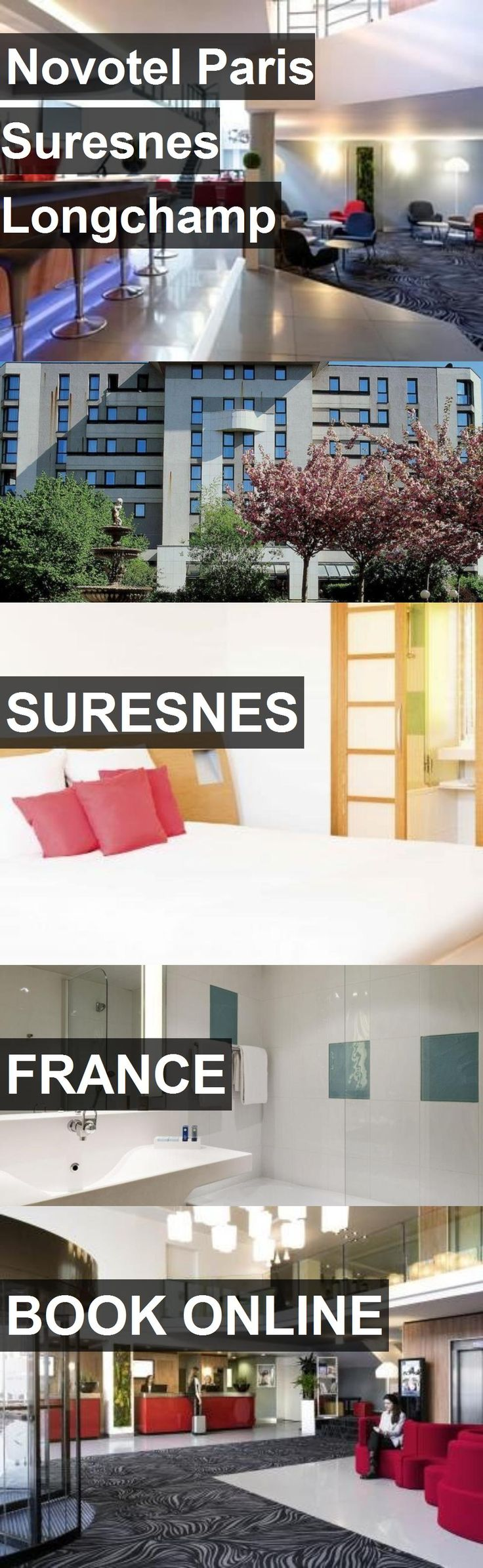 Hotel Novotel Paris Suresnes Longchamp in Suresnes, France. For more information, photos, reviews and best prices please follow the link. #France #Suresnes #travel #vacation #hotel