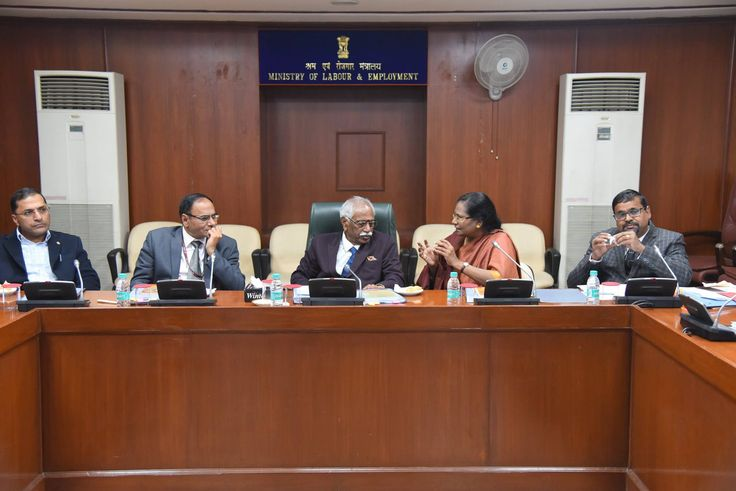 Shri Bandaru Dattatreya, Hon'ble Minister of State (Independent Charge) for Labour & Employment, Govt of India took a review meeting with officials of all organisations under Ministry of Labour & Employment.