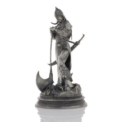 Frazetta's Death Dealer 3 - 6+ Ounce Silver Statue
