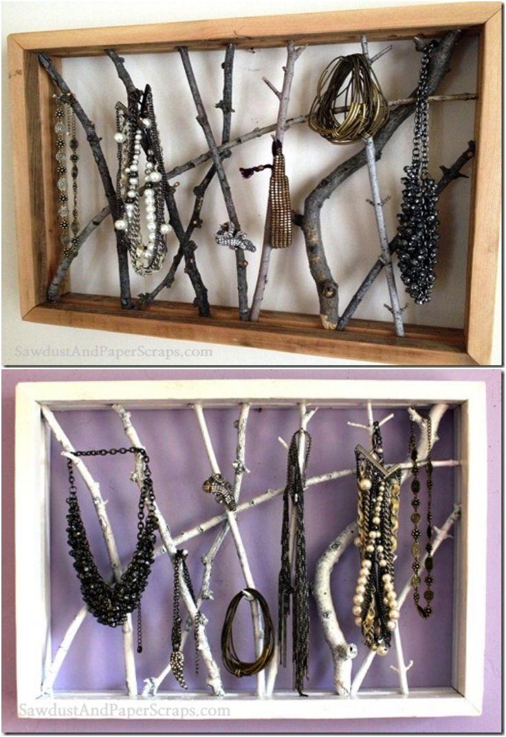 best 25  wooden jewelry display ideas on pinterest