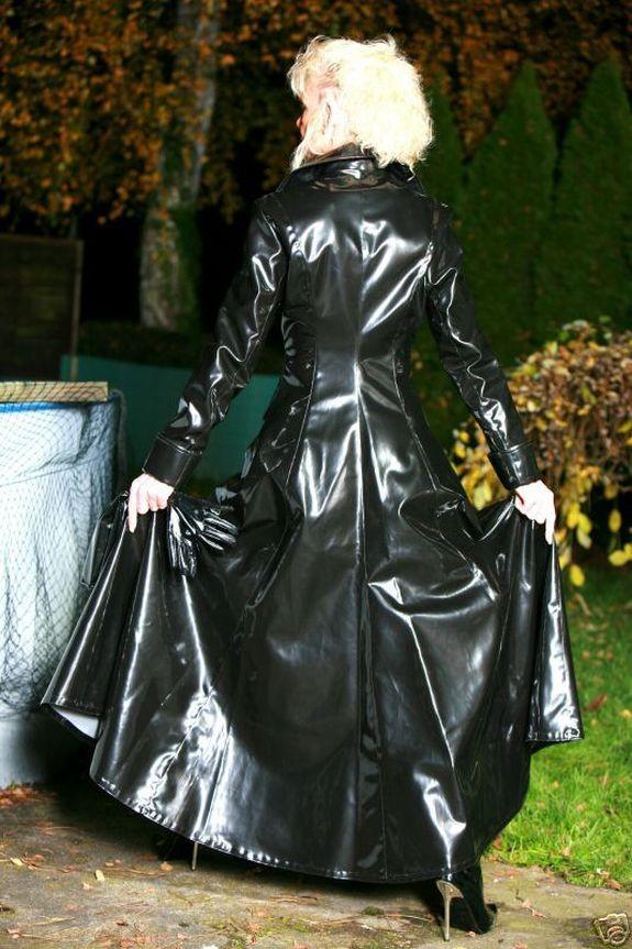 fetish raincoat rubber