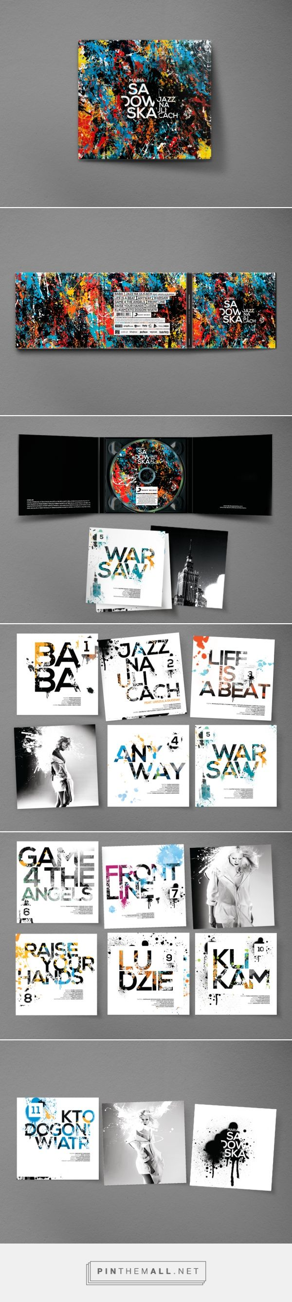 Maria Sadowska - Jazz na ulicach CD album - Packaging of the World - Creative Package Design Gallery - http://www.packagingoftheworld.com/2016/07/maria-sadowska-jazz-na-ulicach.html
