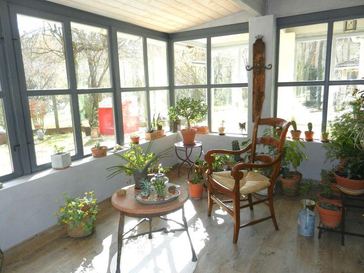 Un jardin d'hiver rétro : Des vérandas et jardins d'hiver pleins de charme - Journal des Femmes Jardin