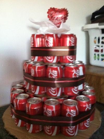 Pepsi M M S Cake