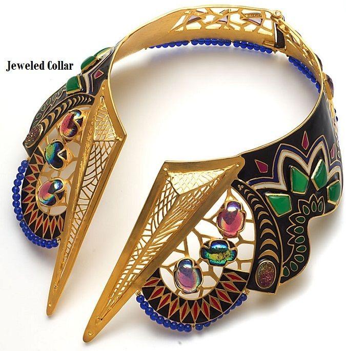 Manish-Arora-Amrapali-jewelled-necklace #Necklace #Jewelryland.com