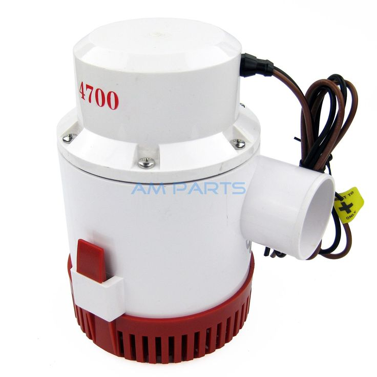 59.42$  Watch now - http://ali4qb.shopchina.info/go.php?t=32802684522 - 12V 4700 GPH Marine Bilge Pump Boat Water Pump Yacht Submersible Pump  #magazineonlinebeautiful