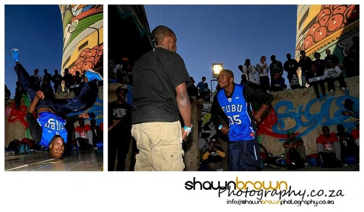 """""""Bboys - Beat that!"""" - Urban Sessions – Street Culture at Orlando Towers, Soweto"""