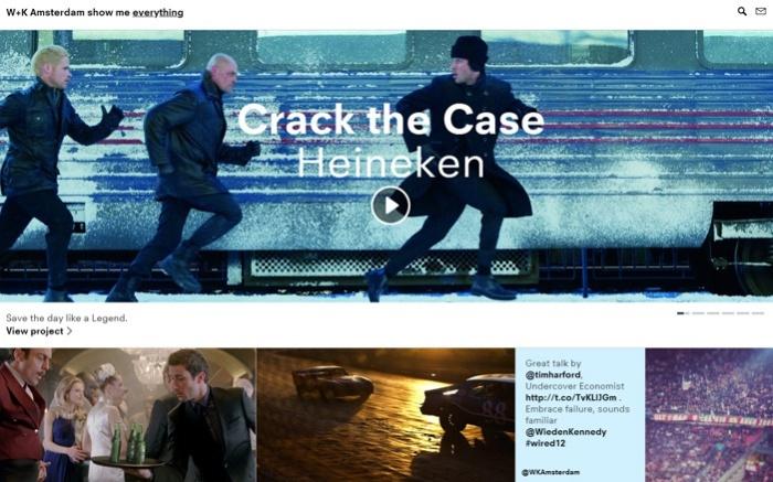 W+K Amsterdam  Best Website of September