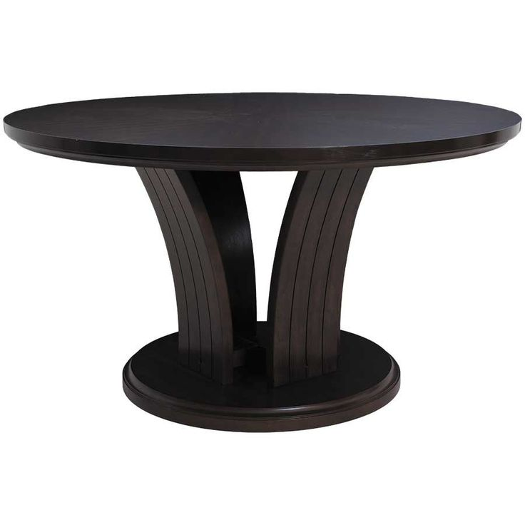 54 inch diameter round dining table daria dining table
