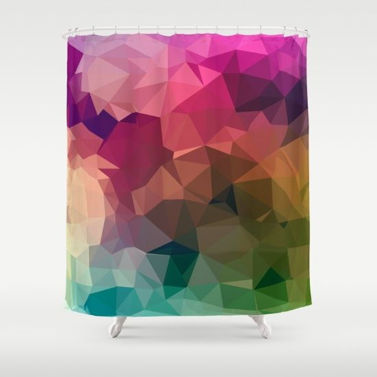 PASTELS 01. Shower Curtain by MESSYMISSY76