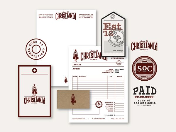 Receipt Book Template Word Excel  Best Imc  Corporate Identity Images On Pinterest  Corporate  Accounting And Invoicing Software For Small Business with Free Download Invoice Template Pdf Branding  Soc By Tim Praetzel Via Behance Email Return Receipt Pdf