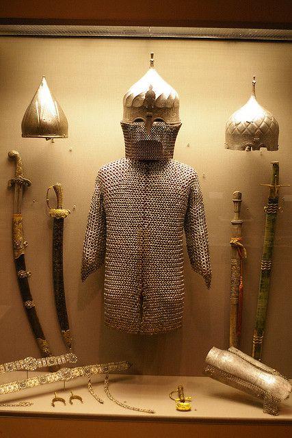 Ottoman armour.  Ca. 16th century.