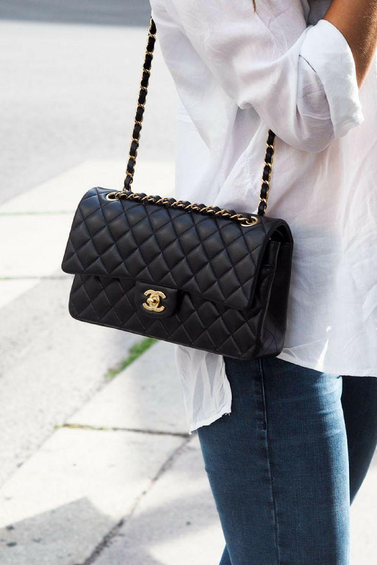 4fed24c0b10cc3 Chanel, Timeless, Chanel Classic double flap bag medium, gold hardware