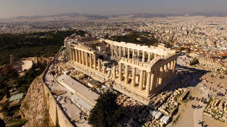 Acropolis, The Parthenon, Athens, Greece