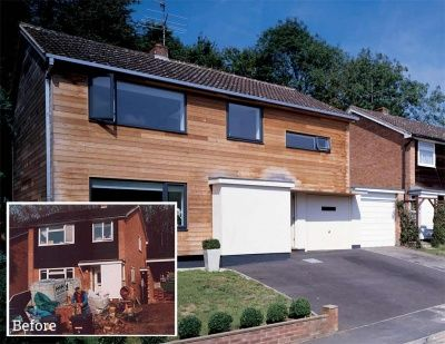 An updated 1960s three bedroom detached house