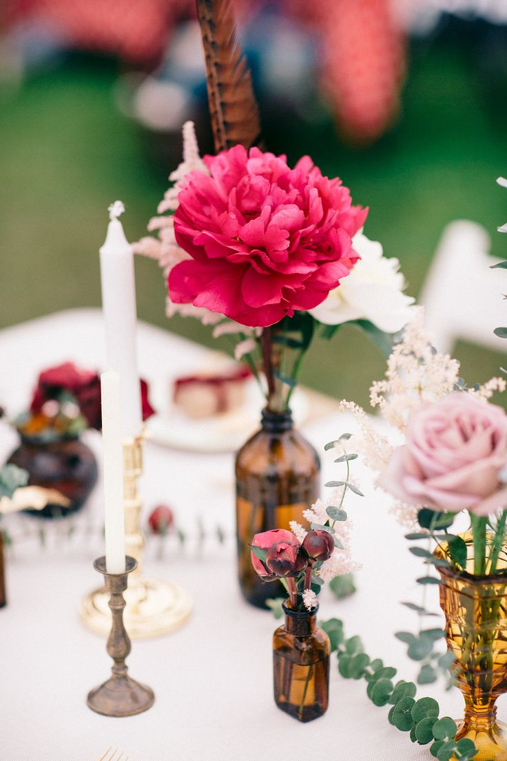 Event Hire - Brown Bottles (Assorted): Narrative Hire  //  Styling: Tebbey & Co.  //  Image:  Rachel Hayton