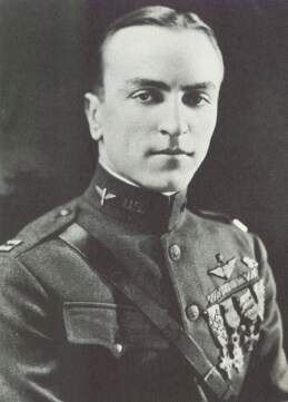 Capt. Eddie Rickenbacker  Top American Ace of WWI, 26 victories