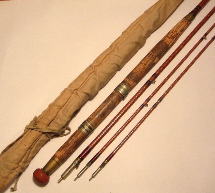 Antique S Allcock Amp Co 11 3 2 Bamboo Salmon Fly Rod