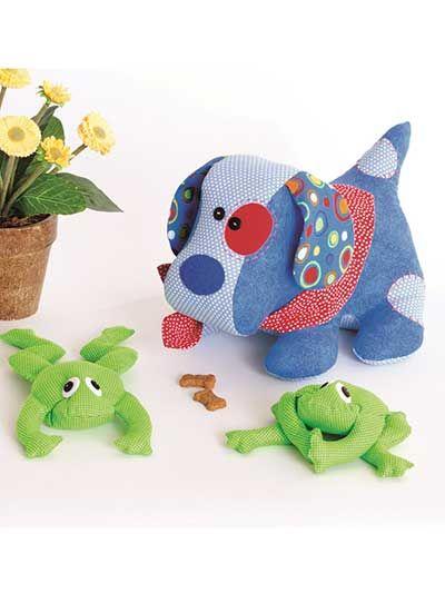 Love Puppy & Little Frog Friend Sewing Pattern