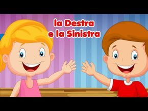 Destra e sinistra che differenza fa - Canzoni per bambini di Mela Music - YouTube