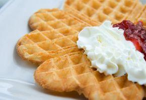 Receitas Saudáveis - Waffle leve